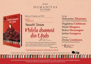 Seară japoneză Yasushi Inoue: Nobila doamnă din Yodo