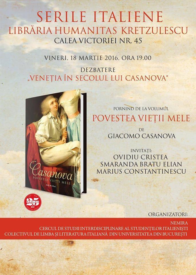 Veneția în secolul lui Casanova