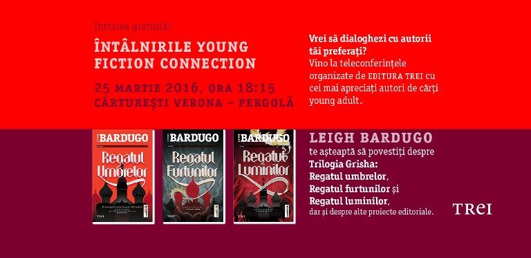 Vino să dialoghezi cu Leigh Bardugo!