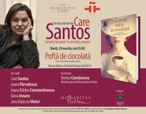Scriitoarea Care Santos vine la Bucureşti