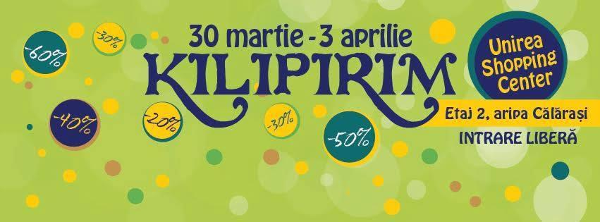 KILIPIRIM - târg de carte cu discount, ediţia de primăvară 2016