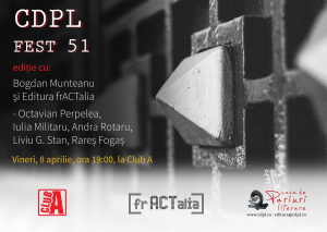 CDPL FEST 51 cu Bogdan Munteanu și Editura frACTalia