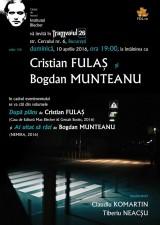 Institutul Blecher, ediția 126 | Întâlnire cu prozatorii Cristian Fulaș și Bogdan Munteanu