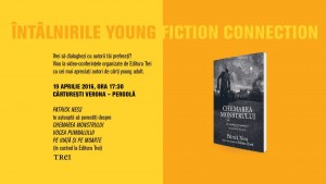 Patrick Ness la Întâlnirile Young Fiction Connection