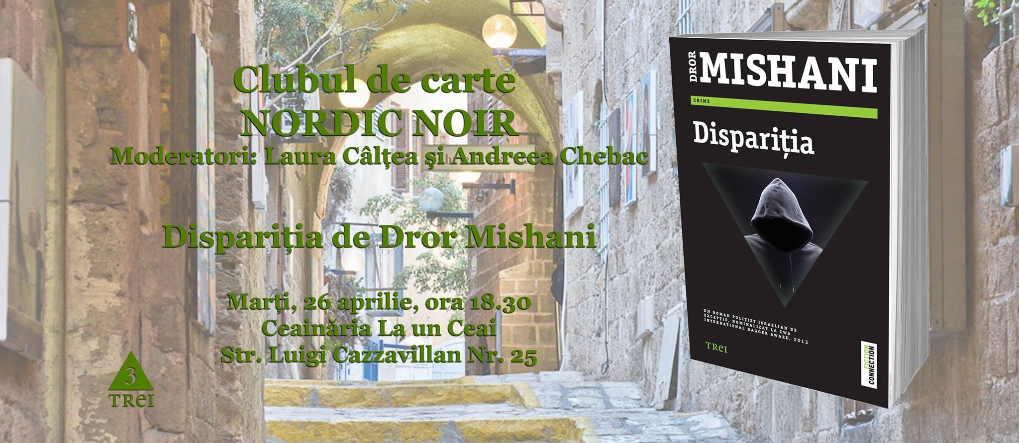 """Clubul de carte Nordic Noir: """"Dispariția"""", de Dror Mishani"""