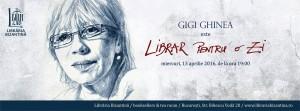 Librar pentru o zi este Gigi Ghinea