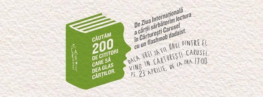 Ziua Cărții | 200 de voci vor rosti 200 de poezii