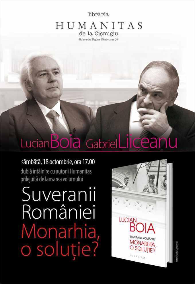 """""""Suveranii României. Monarhia, o soluție?"""", o nouă carte de Lucian Boia"""