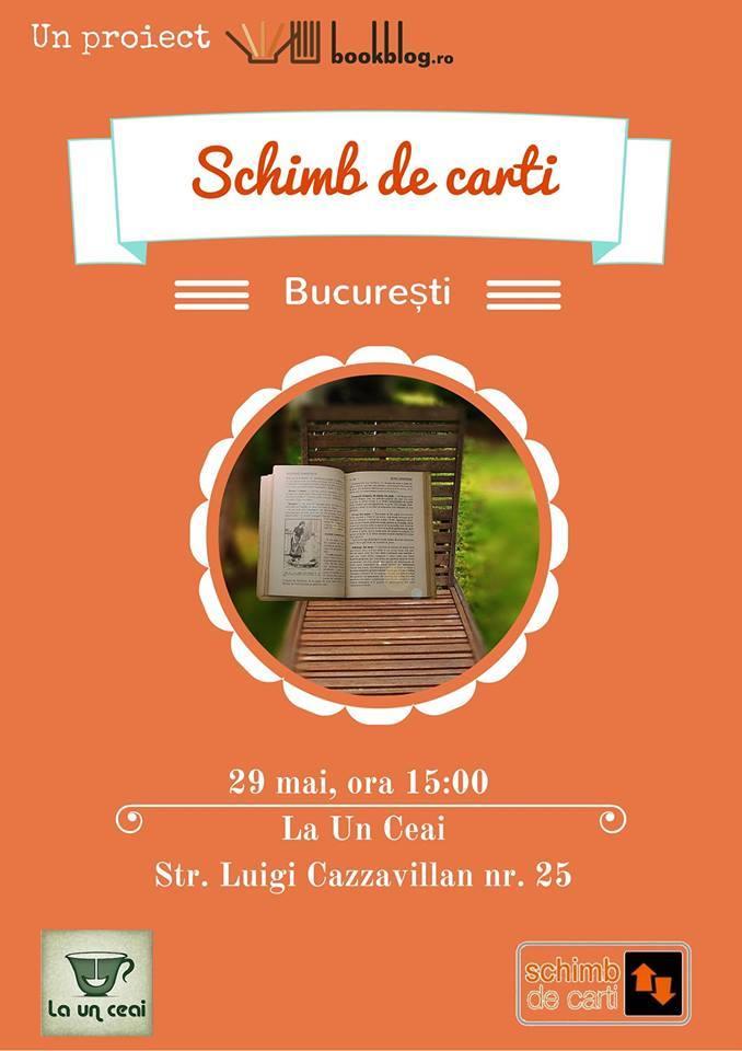 Schimb de Cărți București - cărți de vară