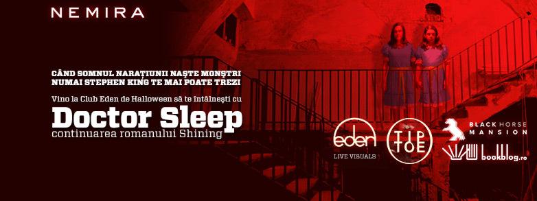 De Halloween Editura Nemira îți face programare la Doctor Sleep