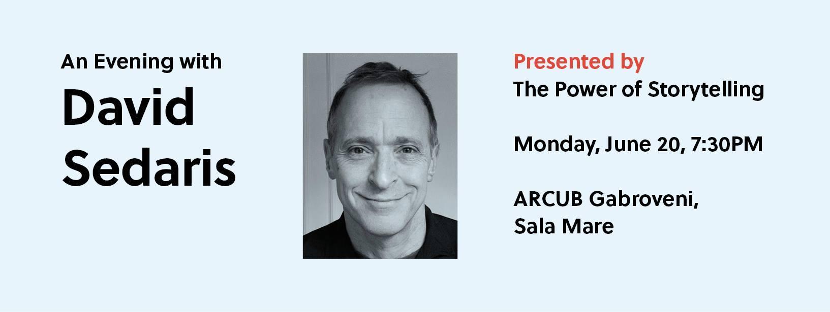 O seară cu David Sedaris