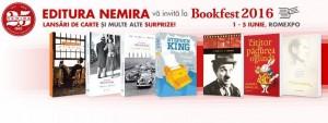 Editura Nemira la Bookfest 2016