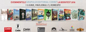 Evenimentele Grupului Editorial Corint la Bookfest 2016