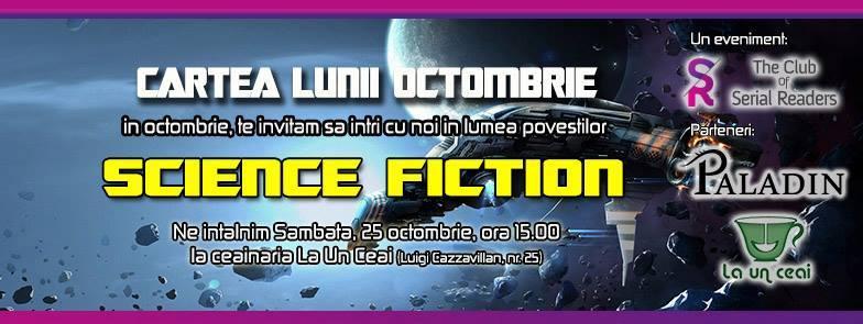 Cartea Lunii Octombrie – Universul Science Fiction