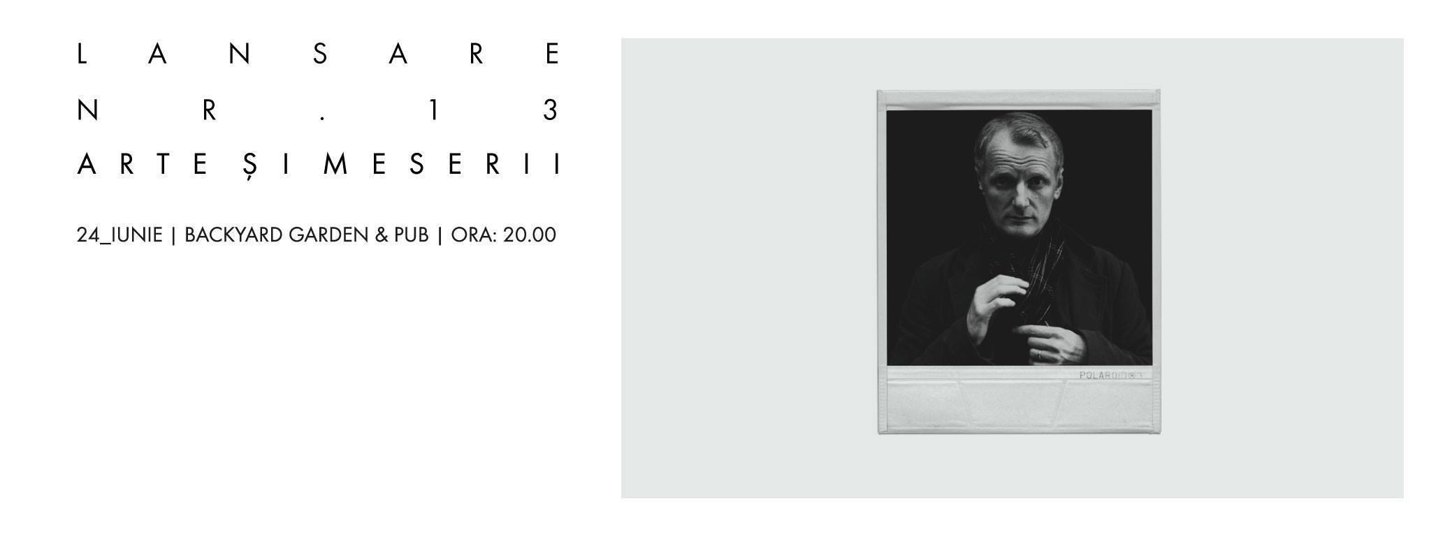 "Lansare Revista ""Arte și Meserii"", nr. 13"