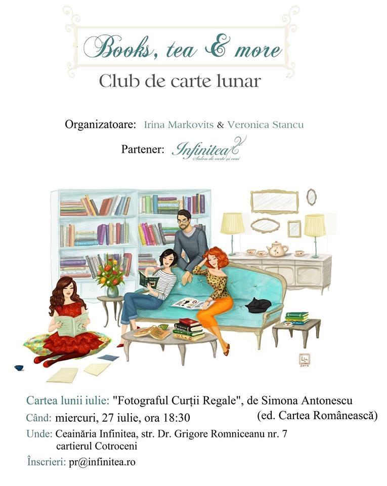 """Books, tea & more: """"Fotograful Curții Regale"""", de Simona Antonescu"""