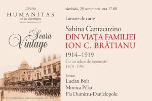 Seară Vintage, Din viața familiei Brătianu