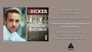 """Clubul de carte Nordic Noir: """"Cartea clanului din Baltimore"""", de Joël Dicker"""