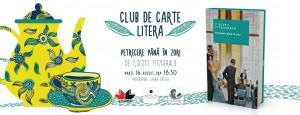 """Club de carte Litera #22: """"Petrecere până în zori"""", de F. Scott Fitzgerald"""
