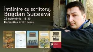 Întâlnire cu scriitorul Bogdan Suceavă