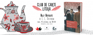"Club de carte Litera #23: ""Billy Bathgate"", de E.L. Doctorow"