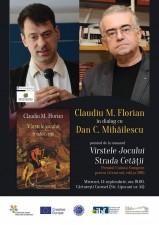 Claudiu M. Florian în dialog cu Dan C. Mihailescu