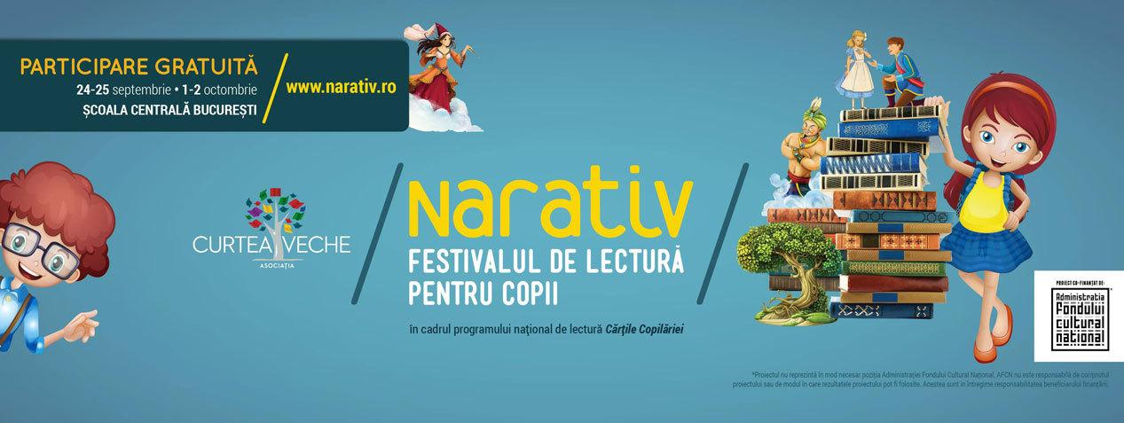 Narativ - Festivalul de lectură pentru copii, ediția a II-a