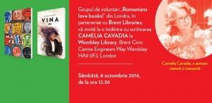 Camelia Cavadia - Lansare de carte în Londra