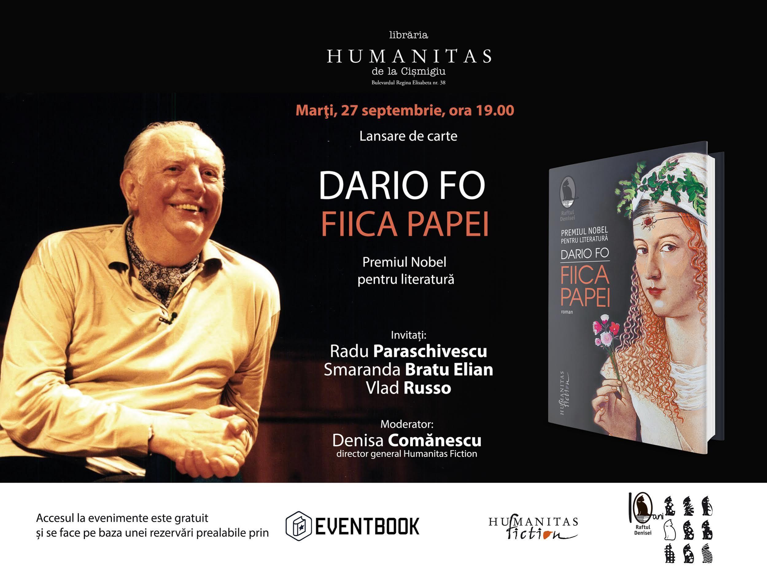 """Despre Lucreţia Borgia în romanul """"Fiica papei"""" de Dario Fo"""