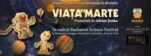 Viaţa pe Marte: Aventuri pentru micii astronauți în devenire