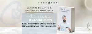 Lansare carte Adi Hădean București