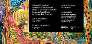 """Lansarea volumului """"Şamanul accidental"""", de Howard G. Charing"""