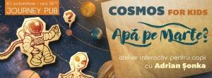 "Cosmos for kids: ""Apă pe Marte?"" | cu Adrian Șonka, astronom"
