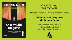 """Clubul de carte Nordic Noir: """"Să mori din dragoste"""", de Donna Leon"""