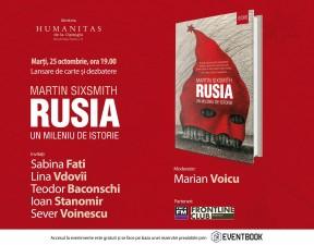 """Despre """"Rusia. Un mileniu de istorie"""""""