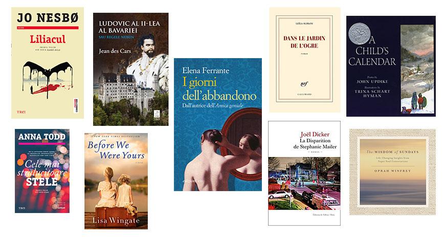 Noutățile Grupului Editorial Trei pentru toamna literară 2018