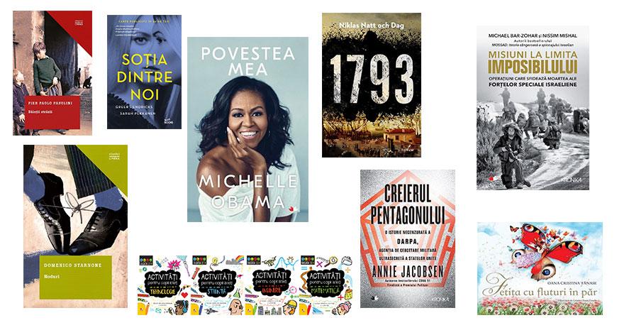 Noutățile pregătite de Editura Litera pentru toamna literară 2018