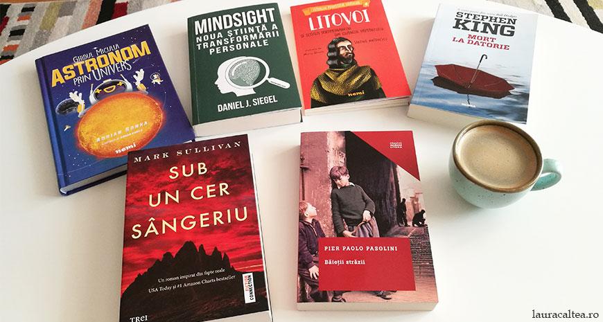 Noutăți literare 16-23 septembrie 2018