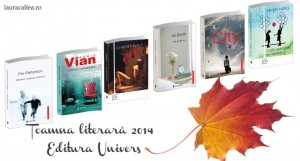 Toamna literară 2014 – Noutăți la Editura Univers