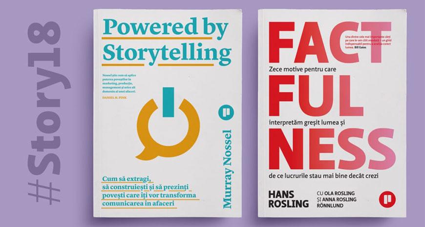 Noutățile Editurii Publica la The Power of Storytelling 2018 și alte noutăți ale toamnei