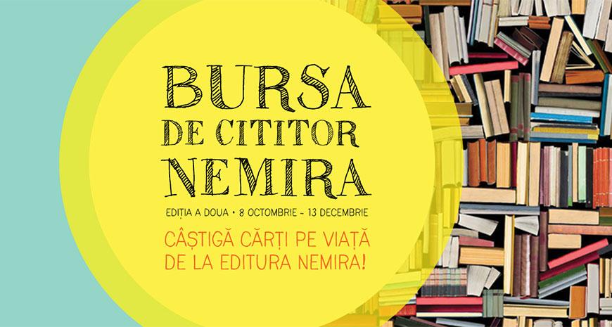 Bursa Nemira – cărți pe viață pentru elevi, ediția 2018