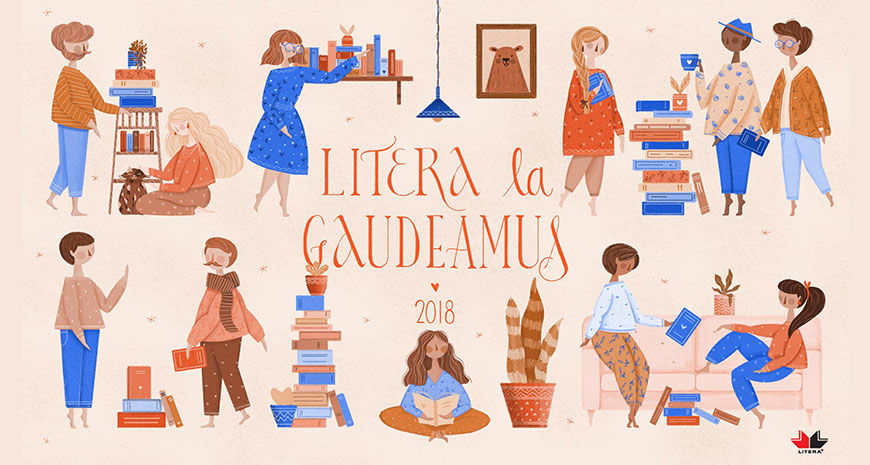 Editura Litera la Gaudeamus 2018: noutăți