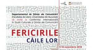 """Conferința internațională în studii culturale și științe ale comunicării """"Fericirile. Căile lor"""""""