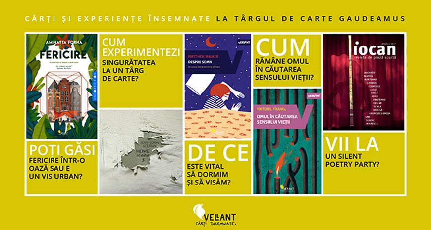 Cărți și experiențe VELLANT la Gaudeamus 2018