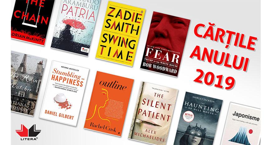 Cărțile anului 2019 la Editura LITERA