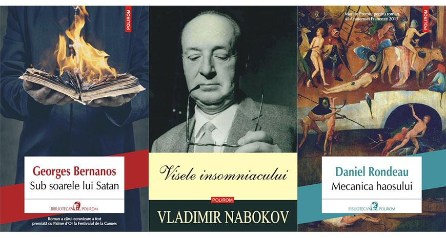 """Concurs: câștigă 3 cărți din """"Biblioteca Polirom"""" [încheiat]"""