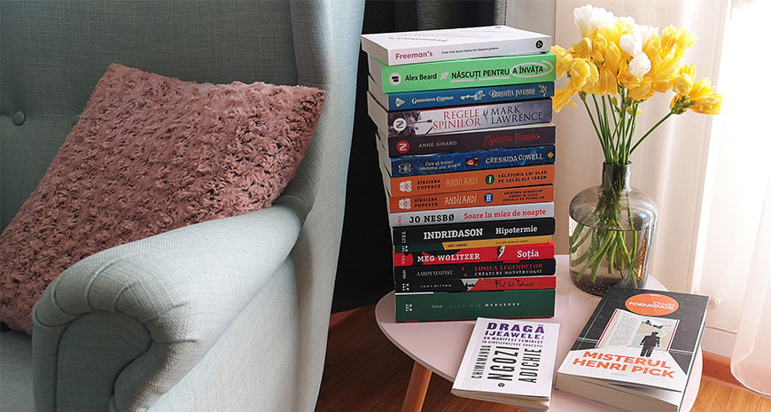 Noutăți literare 25-31 martie 2019