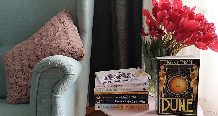Noutăți literare 8-14 aprilie 2019