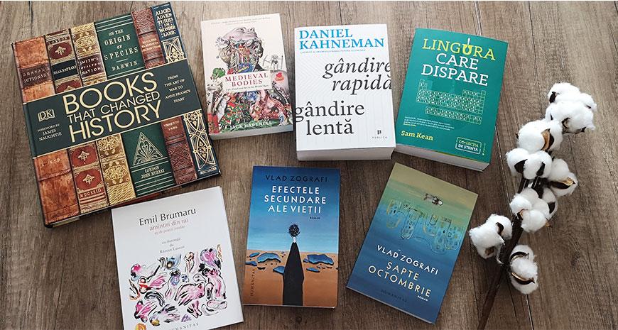 Noutăți literare 7-12 mai 2019
