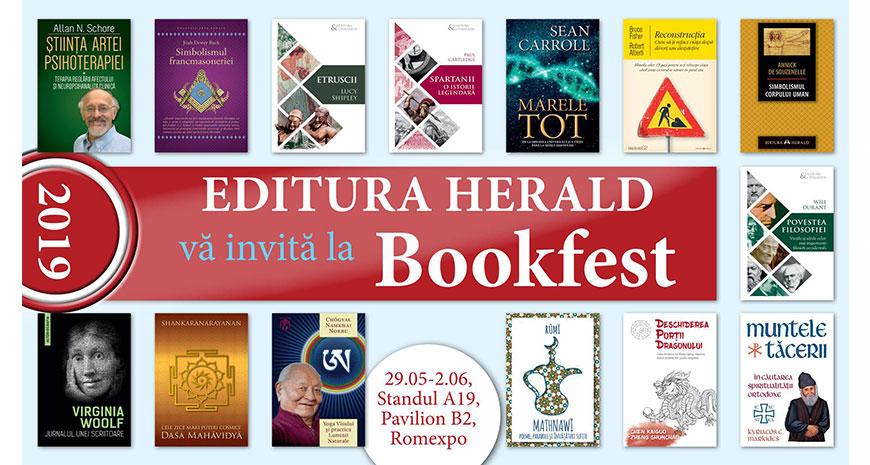 Editura Herald la Bookfest 2019
